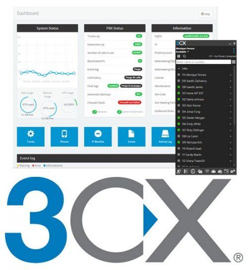 3CX soft